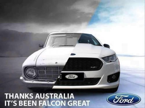 Ford Falcon XK to FG-X
